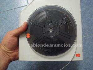 Antigua bobina vintage para pelicula y proyector-super 8 mm