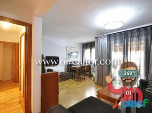 Céntrico piso reformado en venta en Badalona