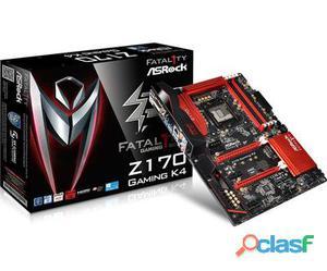Intel Socket 1151, Intel Z170, 4x DIMM Dual DDR4, 6x SATA