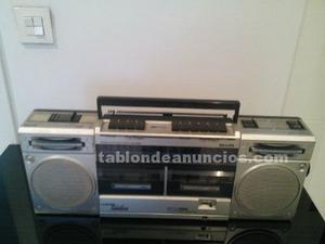 Vendo radiocassette retro vintage