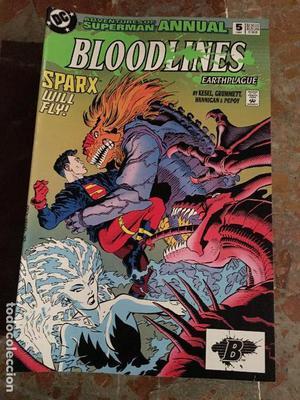 BLOODLINES - ADVENTURES OF SUPERMAN ANNUAL - DC COMICS