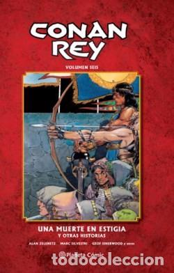CONAN REY 06: UNA MUERTE ESTIGIA Y OTRAS HISTORIAS (PLANETA)