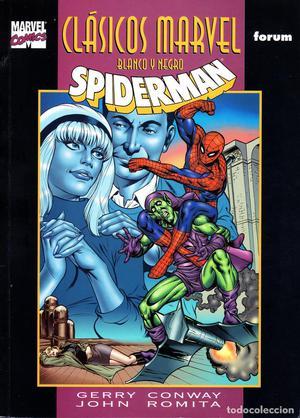 Clasicos Marvel en Blanco y Negro.02.Spiderman.Designios