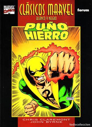 Clasicos Marvel en Blanco y Negro.05.Puño de Hierro.Forum.