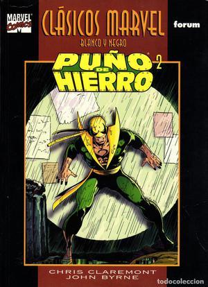 Clasicos Marvel en Blanco y Negro.06.Puño de Hierro