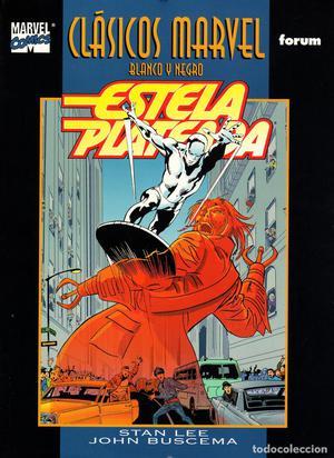Clasicos Marvel en Blanco y Negro.08.Estela Plateada