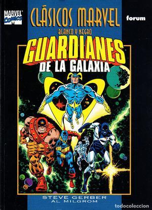 Clasicos Marvel en Blanco y Negro.09.Los Guardianes de la