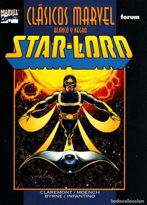 Clasicos Marvel en Blanco y Negro.13.Star-Lord.Forum..