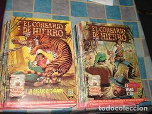 EL CORSARIO DE HIERRO, , colección completa, 58