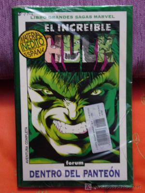 EL INCREÍBLE HULK, FANTASMAS DEL PASADO. MARVEL COMICS