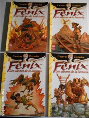 FENIX. LOS ALBORES DE LA HISTORIA. OSAMU TEZUKA. LOTE DE 4