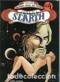 Grandes comics del mundo numero 4: El Nacimiento de Scarth