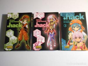 .HACK. REI IZUMI / TATSUYA HAMAZAKI. LOTE DE 3 TOMOS (1, 2 Y