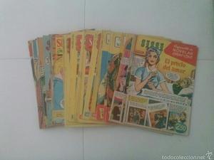 Lote de 39 revistas de Sissi juvenil.