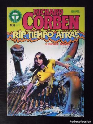 Lote de Richard Corben, Rip tiempo atras numeros 4 y 5; y