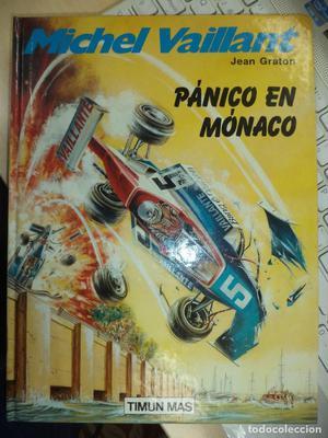 Michel Vaillant.nº1.Pánico en Mónaco.Ed.Timun Mas .