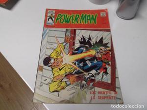 Power Man. Vértice. vol 1 nº 5. Los dientes de la