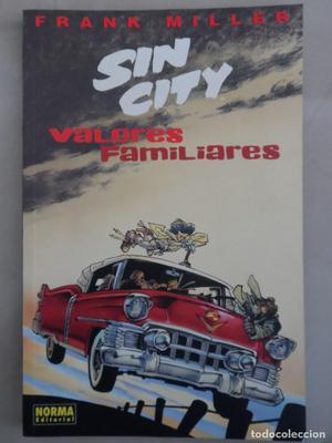 SIN CITY: VALORES FAMILIARES - NORMA - FRANK MILLER - COMO
