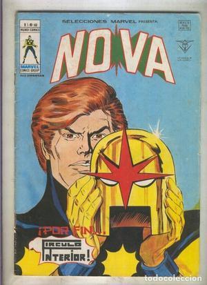 Selecciones Marvel numero 40: Nova (numerado 2 en trasera)