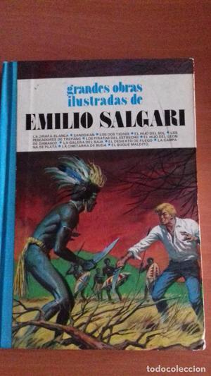 grandes obras ilustradas de Emilio Salgari tomo 7 Editorial