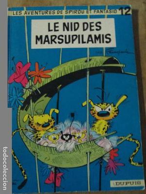 les aventures de spirou et fantasio-le nid des marsupilamis