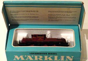 Antigua locomotora Marklin V