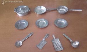 Antigua bateria de cocina juguetes purama en posot class for Cocina juguete segunda mano