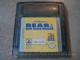 BEAR IN THE BIG BLUE HOUSE + CAJA DE PLÁSTICO - GAME BOY
