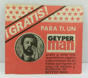 Carnet trípico de Geyperman sin usar