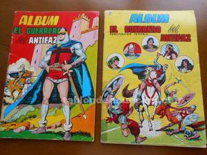 El guerrero del antifaz (2 álbumes)
