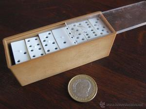Juego de Domino en miniatura, para viaje