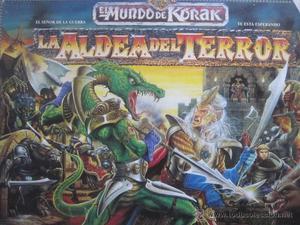 La Aldea del Terror - El Mundo de Korak Village of Fear -