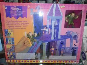 La catedral de notre-dame de Mattel. Completamente nuevo en