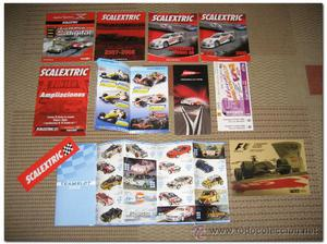 Lote Catalogos Scalextric - SuperSlot, Ninco - Diferentes