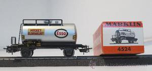 Marklin vagón tanque sueco Esso
