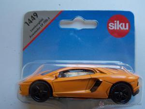 PEQUEÑO SIKU NUEVO EN BLISTER  Siku Lamborghini