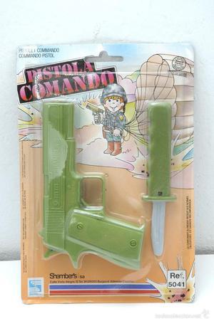 Pistola comando plasticp