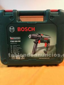 Taladro percutor bosch 500w nuevo envio gratis