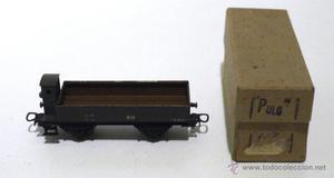 Vagón metálico grava Electrotren )