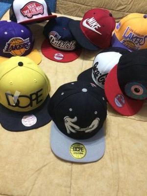 colección de gorras
