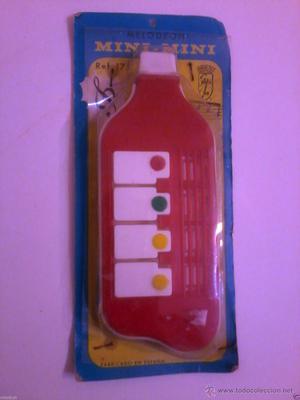 juguete antiguo vintage Melodeon Santa Ana MINI MINI