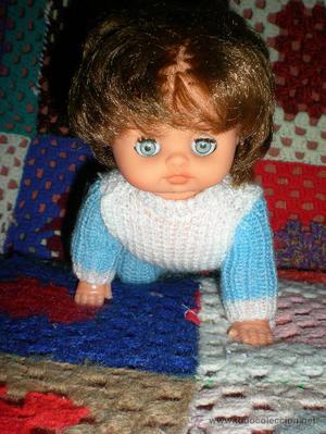 muñeco minipatoso de vicma pelirrojo completo de origen