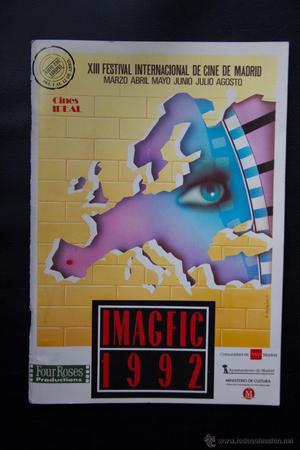 13 XIII FESTIVAL INTERNACIONAL DE CINE DE MADRID - IMAGFIC