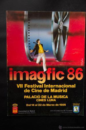 7 VII FESTIVAL INTERNACIONAL DE CINE DE MADRID - IMAGFIC