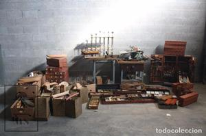 Conjunto de Herramientas y Piezas de Modelismo Barcos Junto