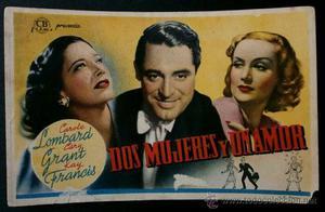 DOS MUJERES Y UN AMOR - CB Films  - Cary Grant - Carole