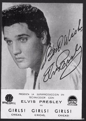 Elvis Presley. Chicas, chicas, chicas. Estreno