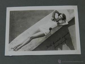 Fotografia de Janet Leigh, actriz estadounidense de cine,