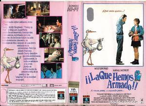 ** HR271 - CARATULA DE PELICULA VHS - ¡¡ LA QUE HEMOS