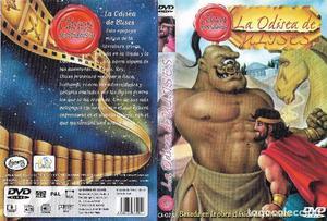 ** HR272 - CARATULA DE PELICULA VHS - LA ODISEA DE ULISES